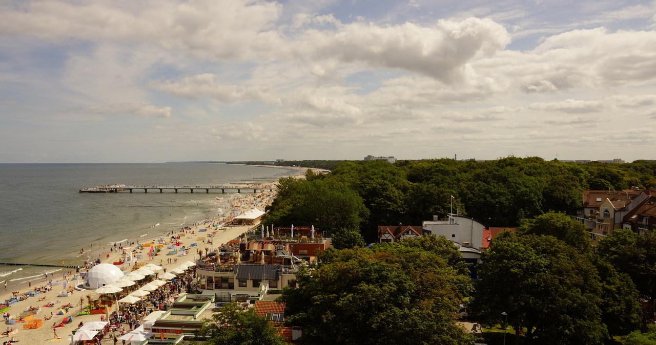 Przepiękne widoki z latarni morskiej w Kołobrzegu