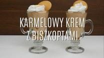Przepis na karmelowy krem z biszkoptami