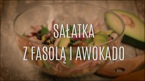 Przepis na sałatkę z fasolą i awokado