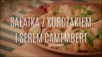Przepis na sałatkę z kurczakiem i serem camembert