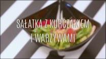Przepis na sałatkę z kurczakiem i warzywami