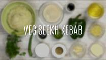 Przepis na veg seekh kebab