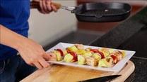 Przepis na zdrowe szaszłyki z łososiem