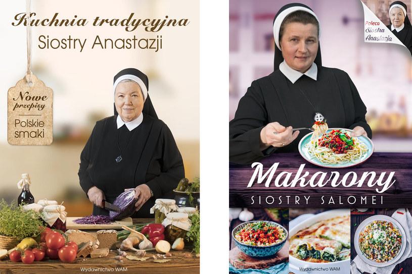 """Przepisy pochodzą z książki """"Kuchnia Tradycyjna"""" Siostry Anastazji i """"Makarony"""" Siostry Salomei (premiera 30 marca) /materiały prasowe"""