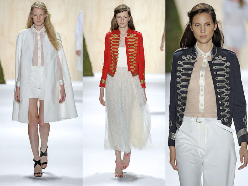 Prześwitujące propozycje domu mody Adam /East News/ Zeppelin