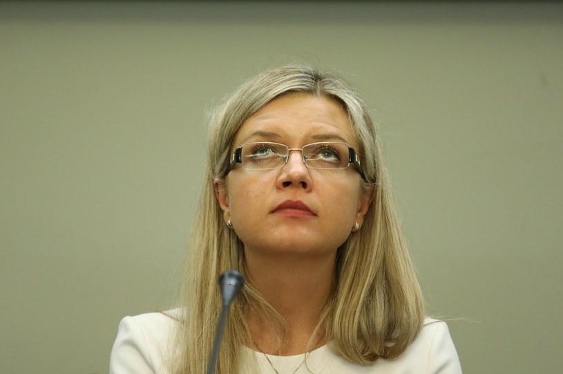 Przewodnicząca komisji śledczej Małgorzata Wassermann /STANISLAW KOWALCZUK /East News