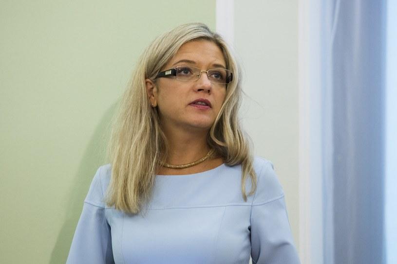 Przewodnicząca sejmowej komisji ds. Amber Gold Małgorzata Wassermann z PiS /Andrzej Hulimka/Reporter /Reporter
