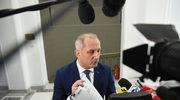 Przewodniczący klubu parlamentarnego Platformy Obywatelskiej Sławomir Neumann w drodze na posiedzenie Konwentu Seniorów