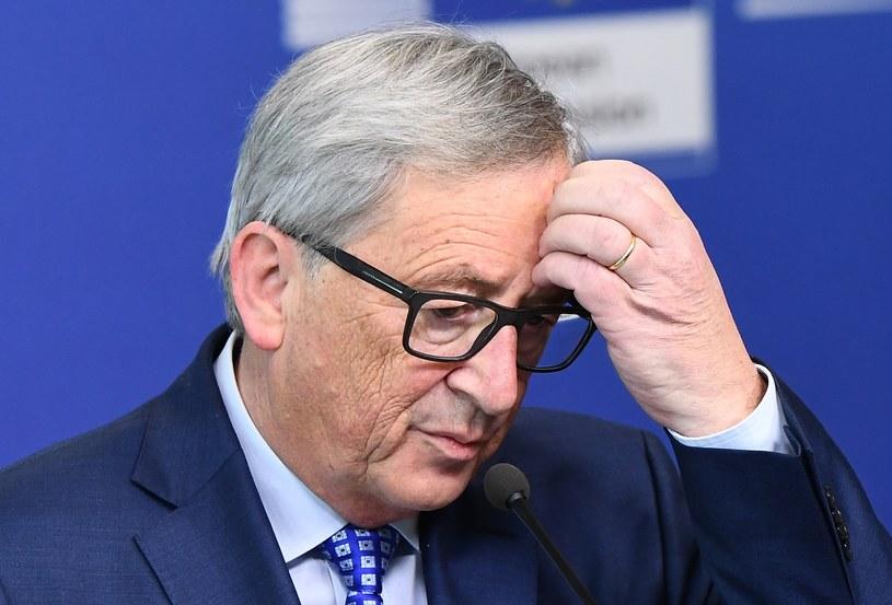 Przewodniczący Komisji Europejskiej, Jean-Claude Juncker /EMMANUEL DUNAND /AFP