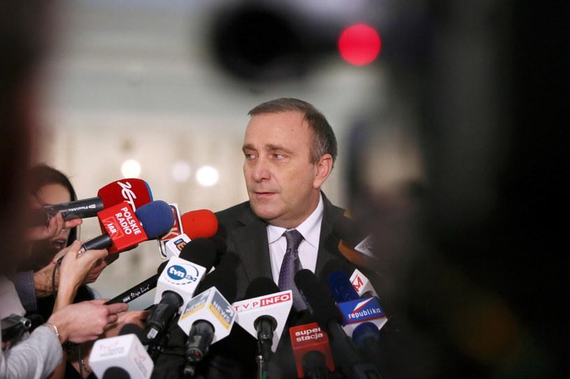 Przewodniczący Komisji Spraw Zagranicznych, poseł PO Grzegorz Schetyna /Tomasz Gzell /PAP