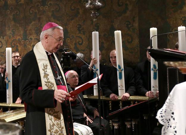Przewodniczący Konferencji Episkopatu Polski arcybiskup Stanisław Gądecki /Waldemar Deska /PAP
