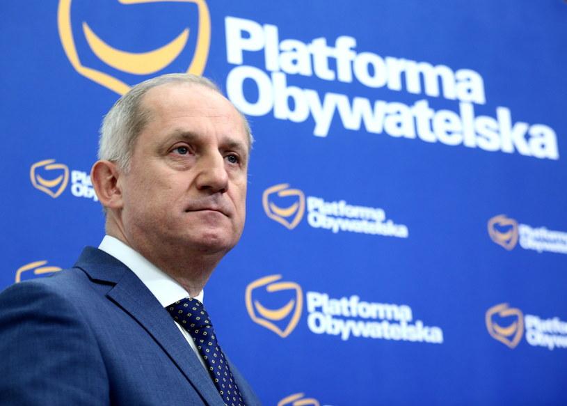 Przewodniczący KP Platformy Obywatelskiej Sławomir Neumann / Leszek Szymański    /PAP