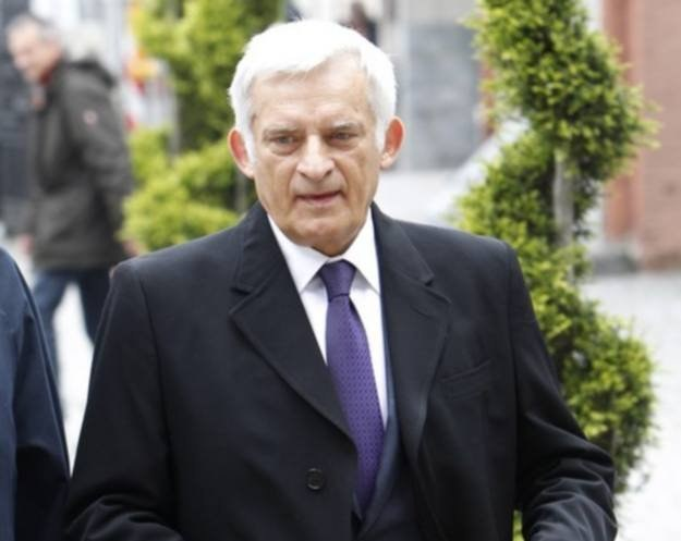 Przewodniczący Parlamentu Europejskiego Jerzy Buzek, fot. Andrzej Stawinski /Reporter