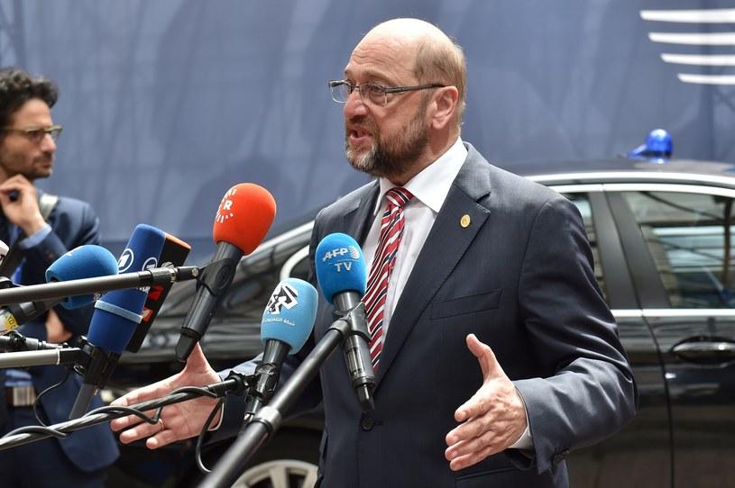 Przewodniczący Parlamentu Europejskiego Martin Schulz /PHILIPPE HUGUEN /East News