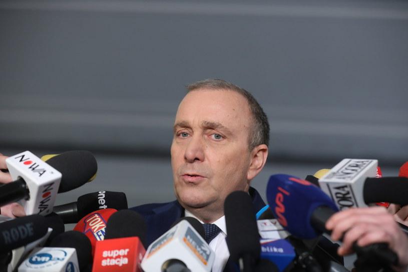 Przewodniczący Platformy Obywatelskiej Grzegorz Schetyna /Rafał Guz /PAP