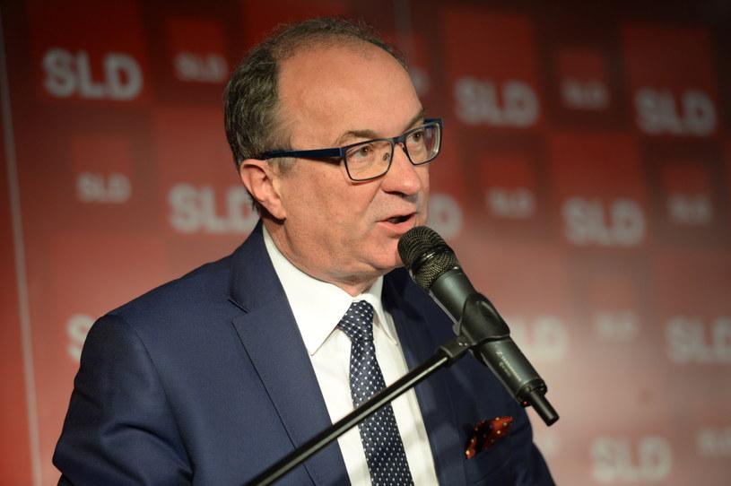 Przewodniczący Sojuszu Lewicy Demokratycznej Włodzimierz Czarzasty /Jacek Turczyk /PAP