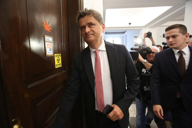 Przewodniczący Twojego Ruchu Janusz Palikot /Leszek Szymański /PAP