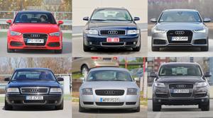 Przewodnik po oznaczeniach kodowych modeli Audi