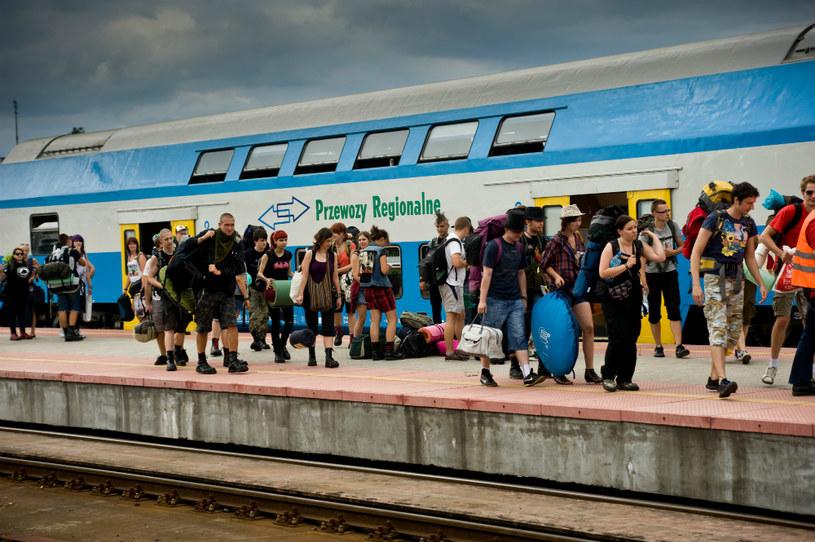 Przewozy Regionalne na 18. Przystanku Woodstock, fot. Arkadiusz Drygas /wosp.org.pl