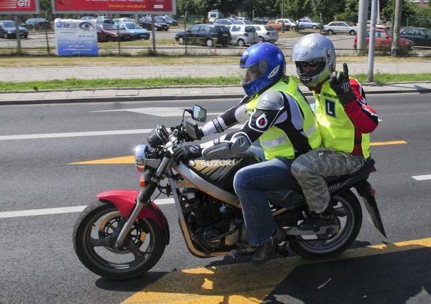 Przez rok nie zrobisz prawa jazdy na motocykl / fot. Włodzimierz Wasyluk /Reporter