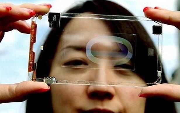 Przezroczysty smartfon od Polytron Technologies /materiały prasowe