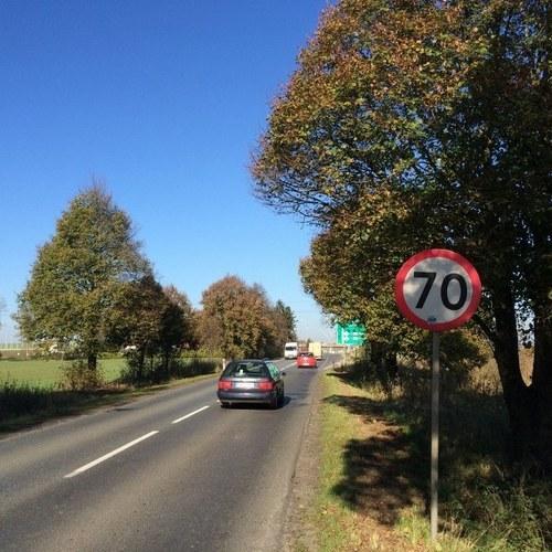 Przy S8 na Dolnym Śląsku stanęły dodatkowe znaki /Bartłomiej Paulus /RMF FM