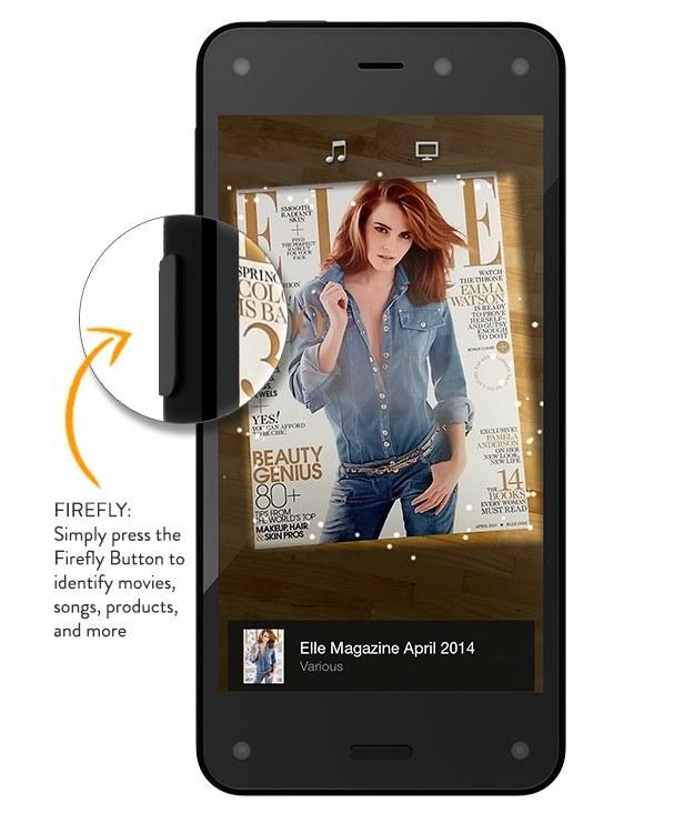 """Przycisk Firefly - ma nam ułatwić identyfikację """"fizycznego"""" produktu. A co za tym idzie - zamówienie go w wersji cyfrowej (lub standardowej) /materiały prasowe"""