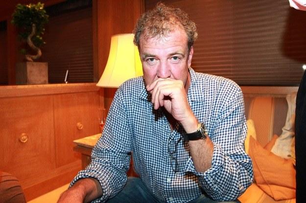 Przyjaciel Jeremy'ego Clarksona ujawnił, że prezenter (na zdjęciu) sam skontaktował się z szefostwem BBC, by przeprosić za incydent /Jean Philippe-Pariente /PAP