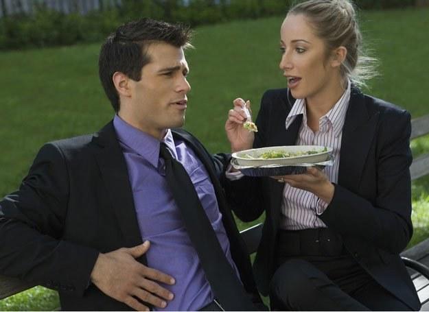 Przyjaciółka uważa, że twój mąż powinien zmienić dietę... /© Panthermedia