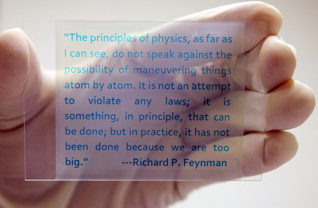 Przykład druku na nowym materiale. Źródło: Yin Lab, UC Riverside. /RMF24