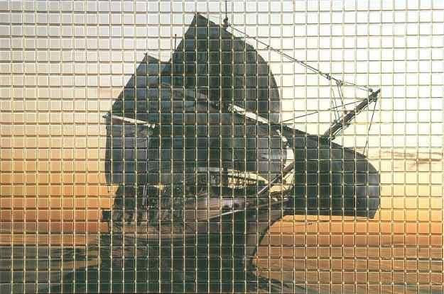 Przykład mozaiki szklanej /materiały prasowe