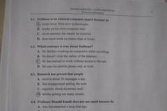 Przykładowe rozwiązanie matury z języka angielskiego