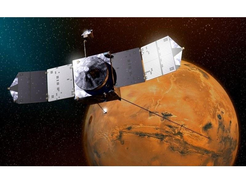 Przyrządy naukowe sondy MAVEN pracują bez zarzutu. /NASA
