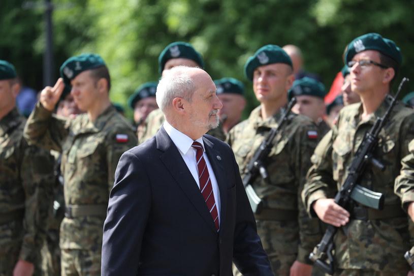 Przysięga oddziałów WOT w Białymstoku /Anatol Chomicz /East News