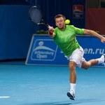 Przysiężny odpadł z Gulbisem w półfinale w Petersburgu