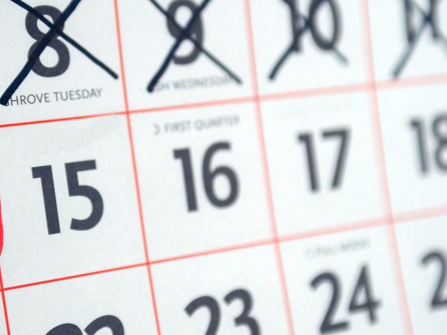 Przyszłoroczny kalendarz oferuje nam 114 wolnych dni /PAP/Retna UK /PAP