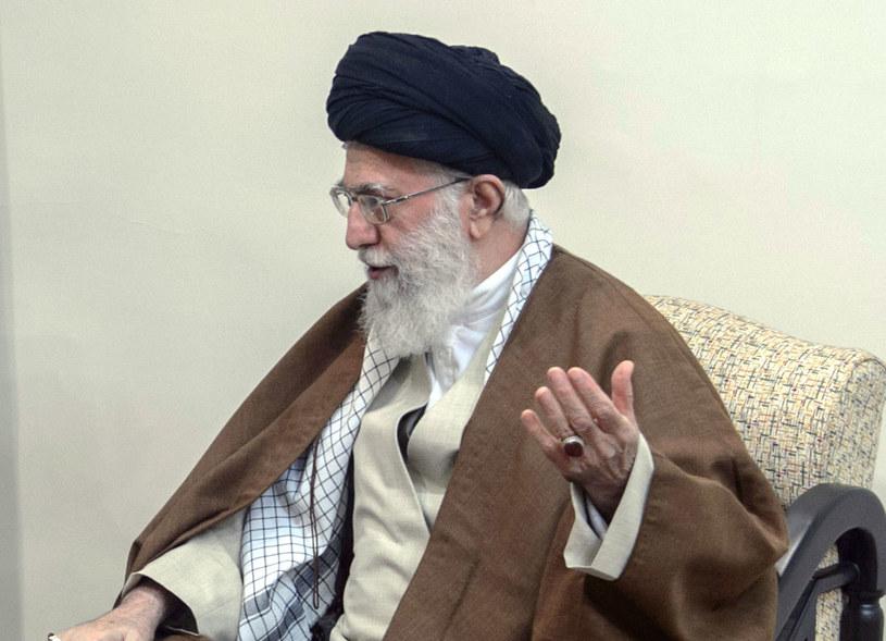 Przywódca duchowo-polityczny Iranu ajatollah Ali Chamenei /AFP