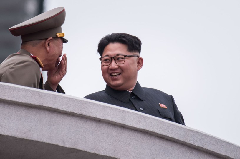 Przywódca Korei Północnej Kim Dzong Un /AFP
