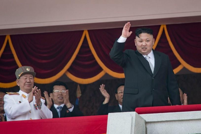 Przywódca Korei Północnej - Kim Dzong Un /AFP