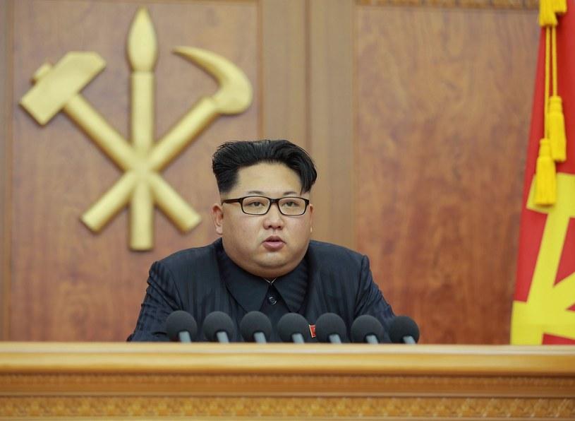 Przywódca Korei Północnej - Kim Dzong Un /East News
