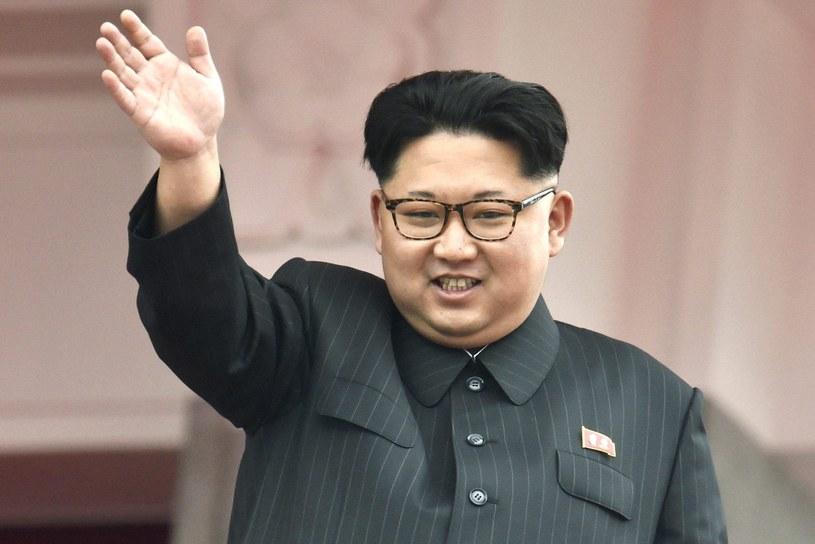Przywódca Korei Północnej Kim Dzong Un /Newscom /PAP/EPA