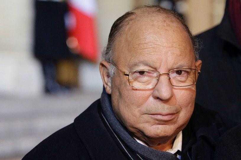 Przywódca muzułmanów we Francji, rektor Wielkiego Meczetu w Paryżu Dalil Boubakeur /GEOFFROY VAN DER HASSELT /AFP