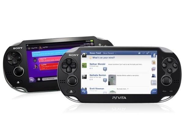 PS Vita umożliwia korzystanie z Facebooka /materiały promocyjne