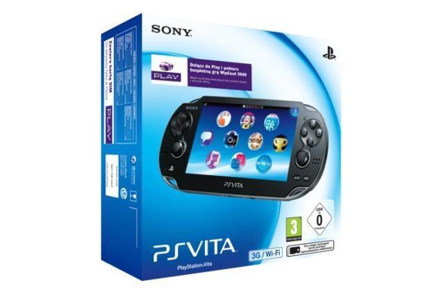 PS Vita z 3G/Wi-Fi  w ofercie operatora PLAY /materiały prasowe