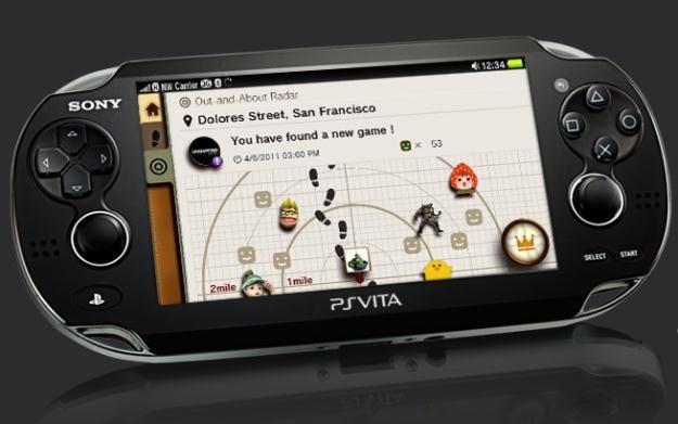 PS Vita - zdjęcie konsoli /Informacja prasowa