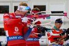 PŚ w biathlonie - wygrana norweskiej sztafety