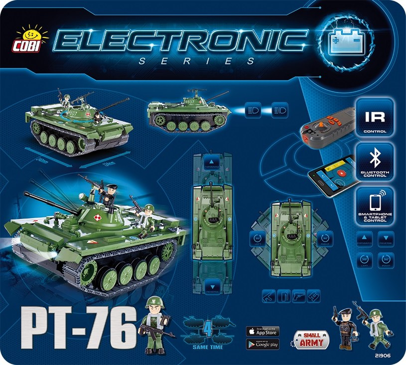PT-76 z serii Electronic od Cobi /materiały prasowe