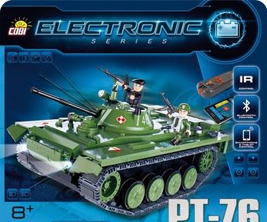 PT-76 - zabawa na gąsienicach