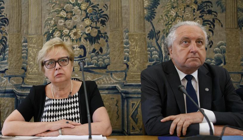 Publiczne wysłuchanie ustawy o SN /Krystian Maj /Agencja FORUM