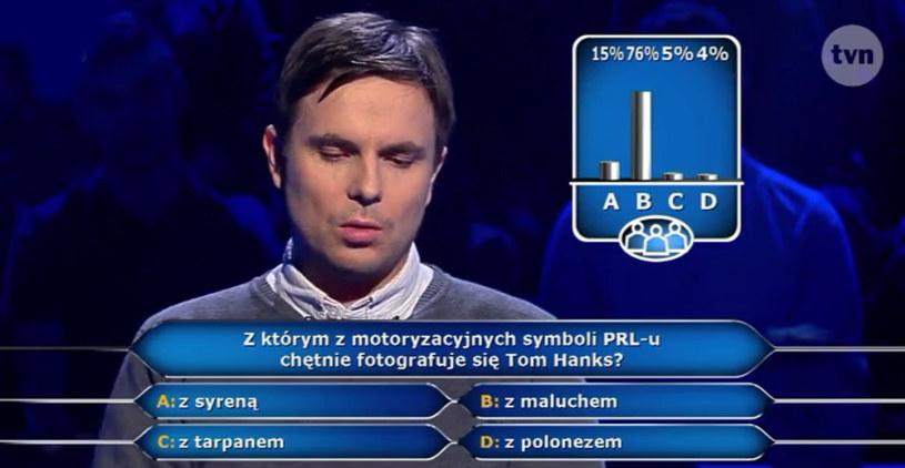 Publiczność okazała się bardzo pomocna /TVN